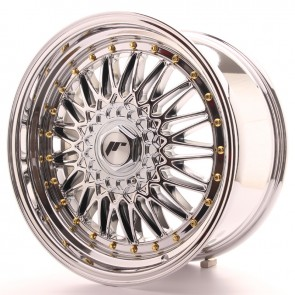 Japan Racing JR9 18x9 ET40 Blank Chrome