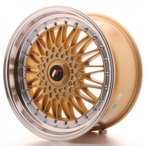 Japan Racing JR9 18x9 ET40 Blank Gold