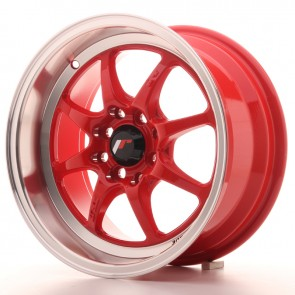 Japan Racing TF2 15x7,5 ET10 4x100/114 Red
