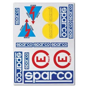 Sparco Kit of 16 stickers