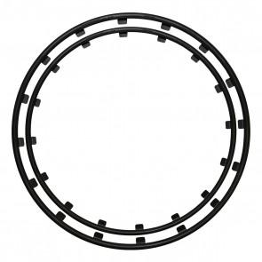 Rim Ringz Car Wheel Rim Protector (Black)