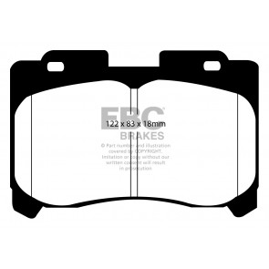 EBC Brakes Ultimax Brake Pads (DP1004)