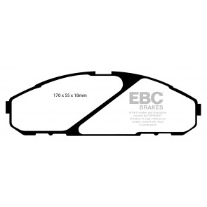 EBC Brakes Ultimax Brake Pads (Front, DP1020)