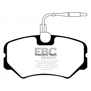 EBC Brakes Ultimax Brake Pads (Front, DP1021)