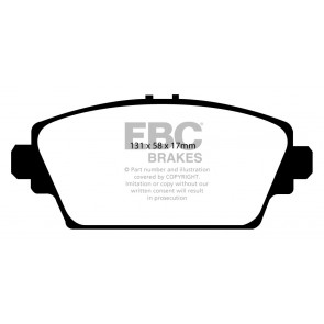 EBC Brakes Bluestuff Brake Pads (Front, DP51339NDX)
