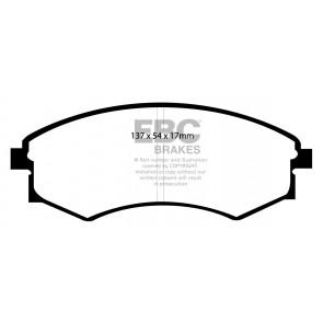 EBC Brakes Bluestuff Brake Pads (Front, DP51358NDX)