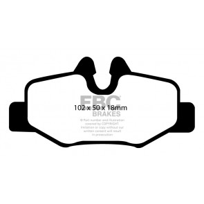 EBC Brakes Ultimax Brake Pads (Rear, DP1554)