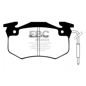 EBC Brakes Ultimax Brake Pads (Rear, DP458/2)