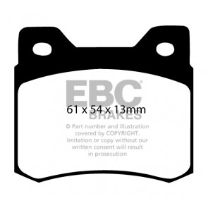 EBC Brakes Ultimax Brake Pads (Rear, DP464)