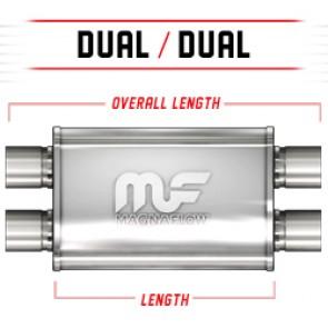 "MagnaFlow 5""x11"" Universal Stainless Steel Muffler"