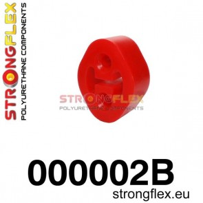 Strongflex 000002B: Exhaust mount hanger 26mm