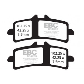 EBC Brakes EBC Road Race Double H Sintered pad set - NEW GPFAX COMPOUND