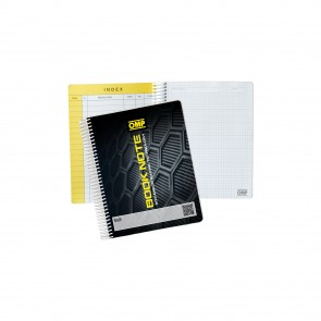 OMP Co-driver's note pad