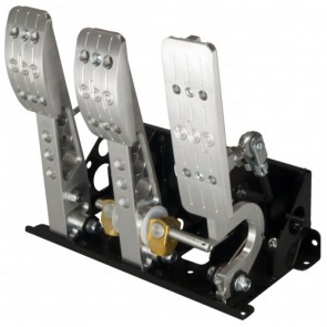 OBP Floor Mounted Bulkhead Fit Hydraulic Clutch Pedal Box