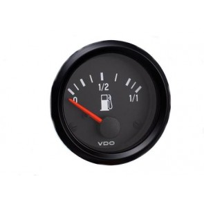 VDO Fuel Level Gauge, Dip Tube, 52mm