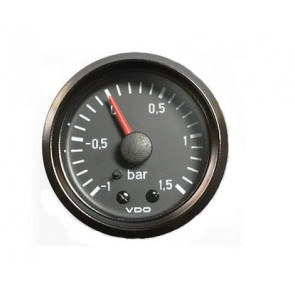 VDO Turbo Boost Gauge, -1 to +1.5 bar, 52mm