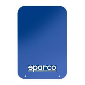 Sparco Mud Flap Pair, Blue