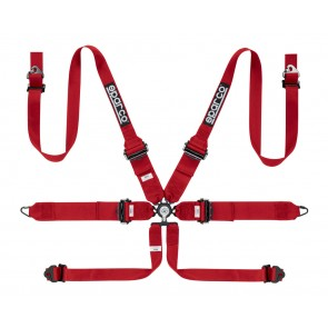 Sparco Racing harnesses, PRO ENDURANCE 6 POINT PULL DOWN FHR
