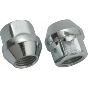 Sandtler Wheel nuts m12x1.25, 17mm, 23mm, 60°, silver
