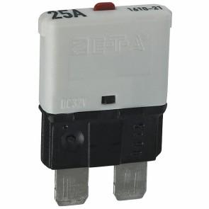 Sandtler Circuit breaker, Push to Reset, 25A