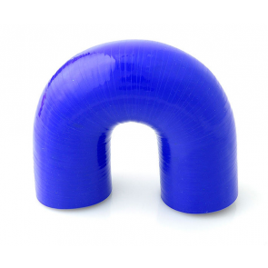 Deor 180° silicone hose elbow 76 mm