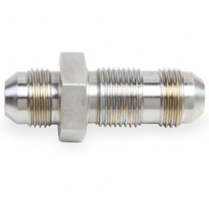 HEL Performance Bulkhead Fitting -3 AN JIC Straight Stainless Steel
