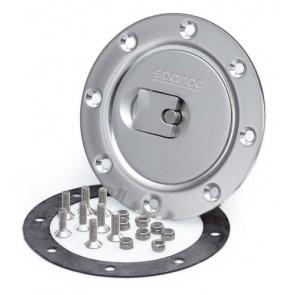 Sparco Aero Fuel Cap (Silver), non locking