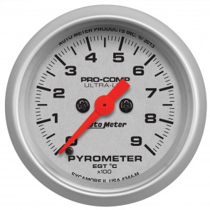 Auto Meter Ultra-Lite Electrical Pyrometer
