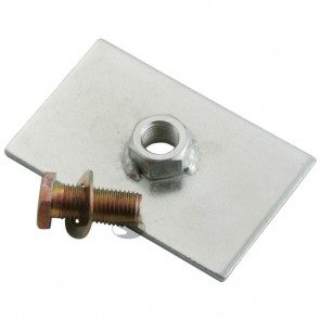 Sandtler Tow Strap Bolt Plate with Bolt