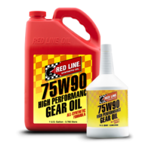 Red Line 75w90, GL-5 Gear Oil, Quart
