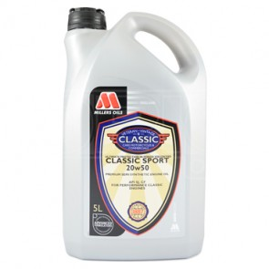 Millers Oils Classic Engine Oil Classic Sport 20w50 SS