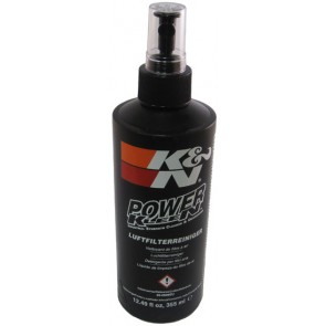 K&N Filter Cleaner; 12 oz/355 ml Pump Spray (DE/FR/NL/IT/PT)