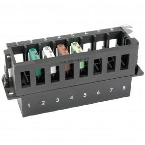 Sandtler Fuse box, 8 terminals, High fuses