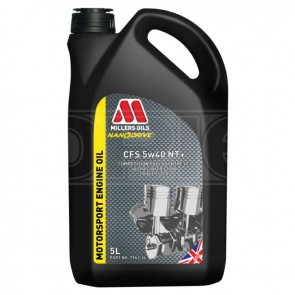 Millers Oils Engine Oil CFS 5w40NT+ (5L)