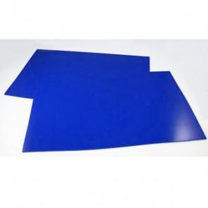 RRS Mud Flap Pair, Blue, 4mm