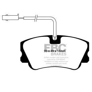 EBC Brakes Ultimax Brake Pads (Front, DP1011)