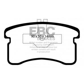 EBC Brakes Ultimax Brake Pads (Front, DP1016)