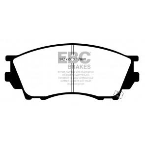 EBC Brakes Ultimax Brake Pads (Front, DP1019)