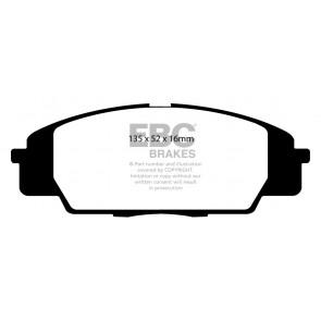 EBC Brakes Bluestuff Brake Pads (Front, DP51254NDX)