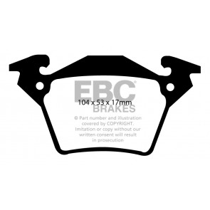 EBC Brakes Ultimax Brake Pads (Rear, DP1343)