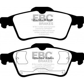 EBC Brakes Ultimax Brake Pads (Rear, DP1354)