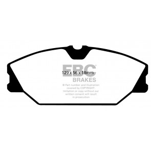 EBC Brakes Bluestuff Brake Pads (Front, DP51369NDX)