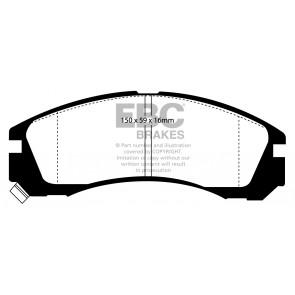 EBC Brakes Bluestuff Brake Pads (Front, DP5954NDX)