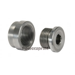 Powersprint Weld in Lambda nut with cup (AISI 409)