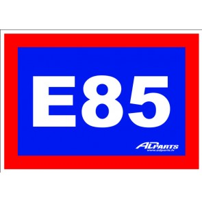 ADParts E85 Sticker