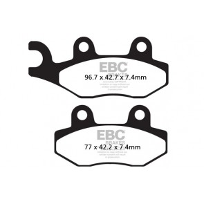EBC Brakes R Series Heavy Duty Sintered Pads (2 pcs)