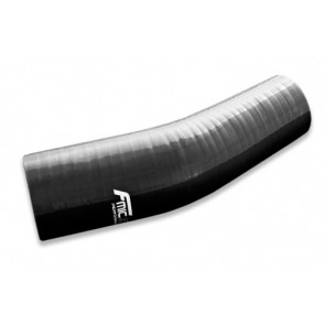 Fmic SILICONE ELBOW REDUCER 23' 63/55MM, Black