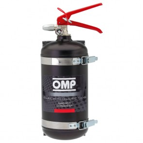 OMP Hand Held Fire Extinguisher 2.4 Litre AFFF  (Black)