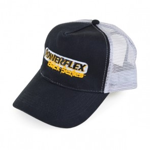 Powerflex BLACK SERIES TRUCKER HAT (GREY)