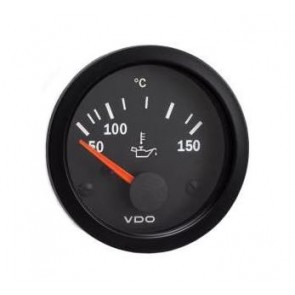 VDO Oil Temperature Gauge, 150°C, 52mm